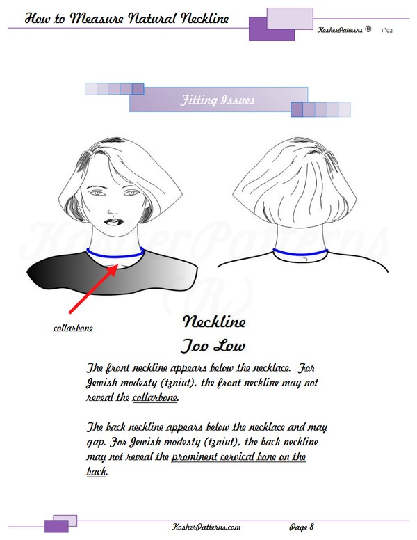 How to Measure Your Neckline