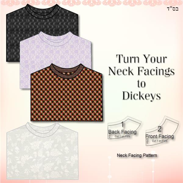 How to Sew a Simple Dickey