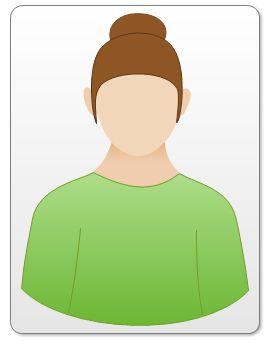 Garment whose shoulder slant matches the wearer.