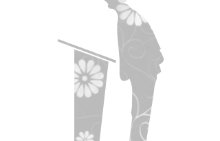 062121-flat-gray-floral-icon-people-things-people-speaker-sc44